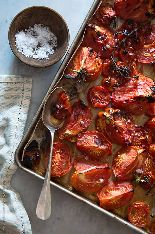 Roasted tomato by Veronika Studer for Stocksy United