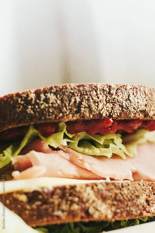 Sandwich by Borislav Zhuykov for Stocksy United