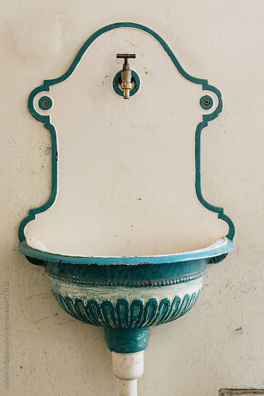 Old looking sink by Gabriel (Gabi) Bucataru for Stocksy United