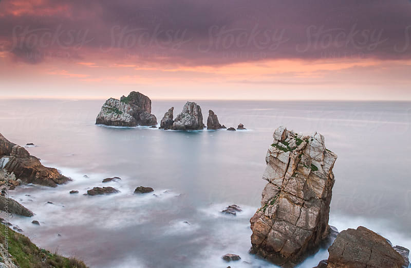 Cantabrian coast, near Santander, in northern Spain by Marilar Irastorza for Stocksy United