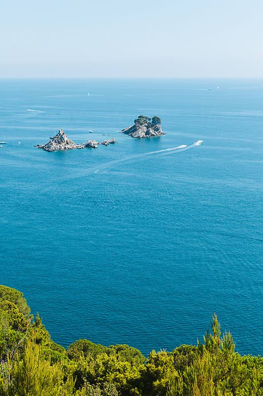 Islands near Petrovac town by Zocky for Stocksy United