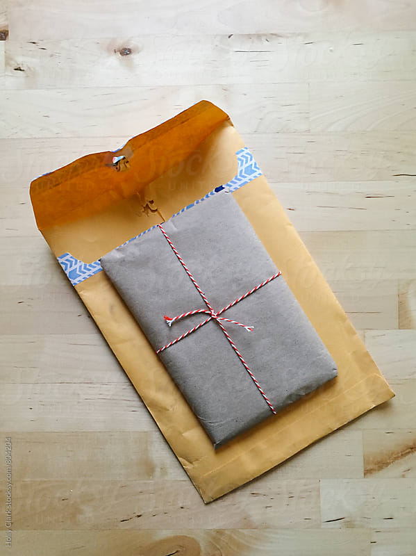 Unexpected gift in the mail by Holly Clark for Stocksy United