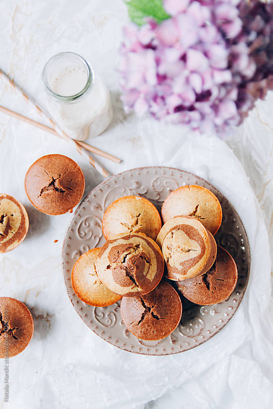 Delicious muffins by Nataša Mandić for Stocksy United