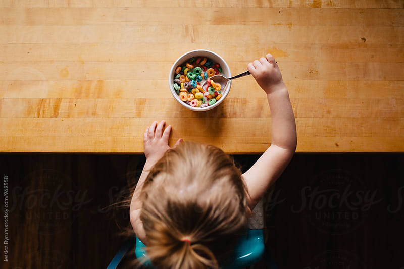 Breakfast of Toddlers by Jessica Byrum for Stocksy United
