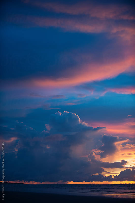 Sky at Sunset in Darwin, Australia by Gary Radler Photography for Stocksy United