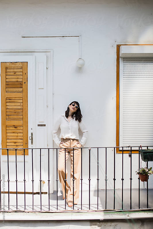 Fashionable woman by Jovana Rikalo for Stocksy United