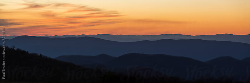 Shenandoah Sunset by Paul Tessier for Stocksy United