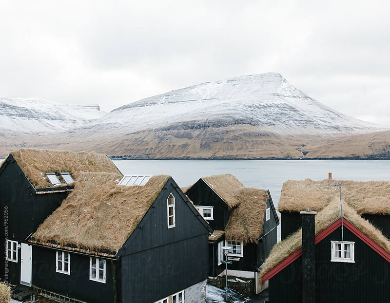 Bøur village, Faroe Islands by Kevin Faingnaert for Stocksy United