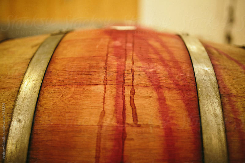 wine barrel - digital file by Andrew Cebulka for Stocksy United