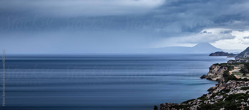 Stretched Seascape by Helen Sotiriadis for Stocksy United