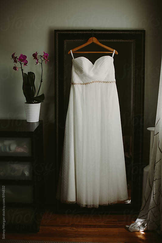 Melissa's Wedding Dress by Sidney Morgan for Stocksy United