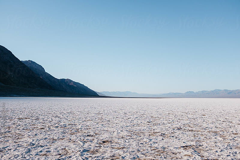 bad water basin death valley national park usa by Jesse Morrow for Stocksy United