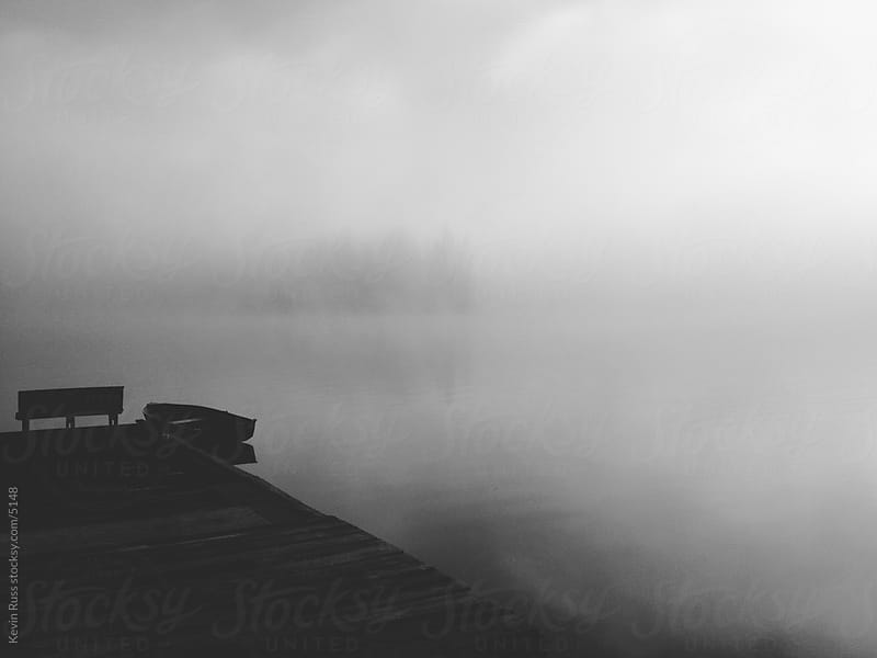 Foggy Dock by Kevin Russ for Stocksy United