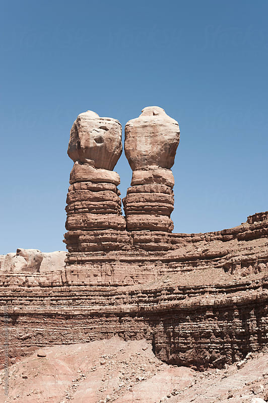 Twin Rocks by Anthon Jackson for Stocksy United