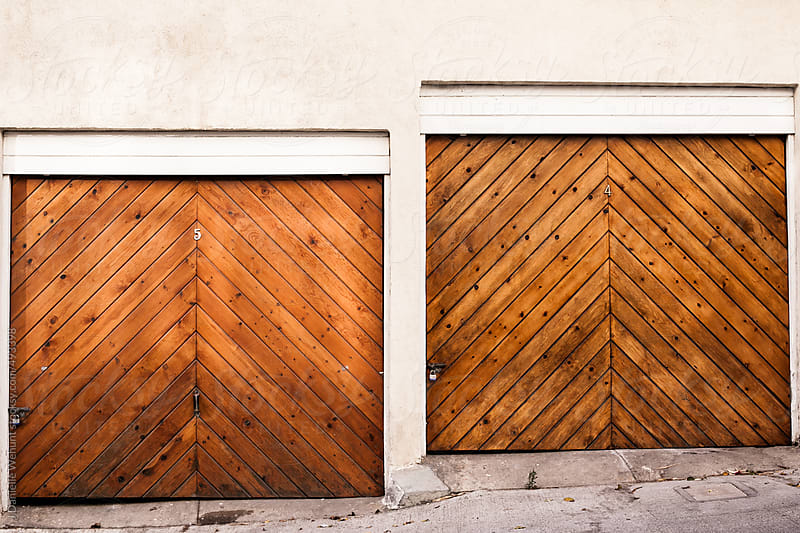 Two Garages by J Danielle Wehunt for Stocksy United