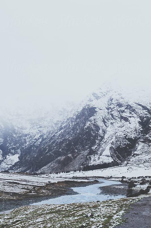 Hiking Trail in Mount Aspiring National Park by Luke Gram for Stocksy United