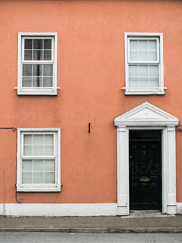 House-front in Innishannon, Ireland by Gary Radler Photography for Stocksy United