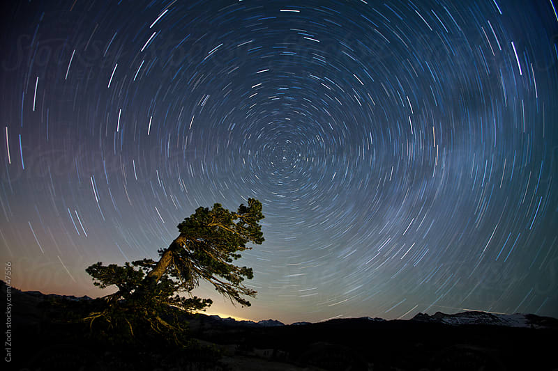Star Trail by Carl Zoch for Stocksy United