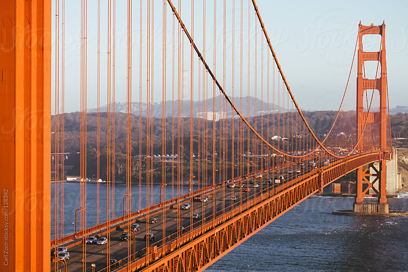 Golden Gate Bridge by Carl Zoch for Stocksy United