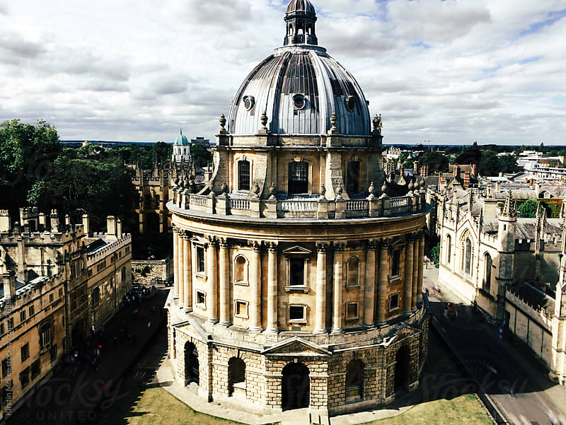 Radcliffe Camera, Oxford by Kirstin Mckee for Stocksy United