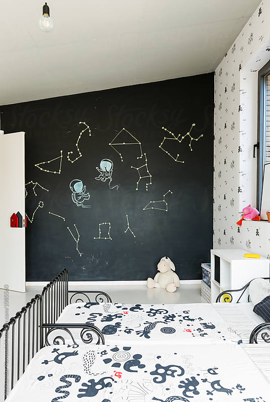 Child's room in contemporary interior by Aleksandar Novoselski for Stocksy United