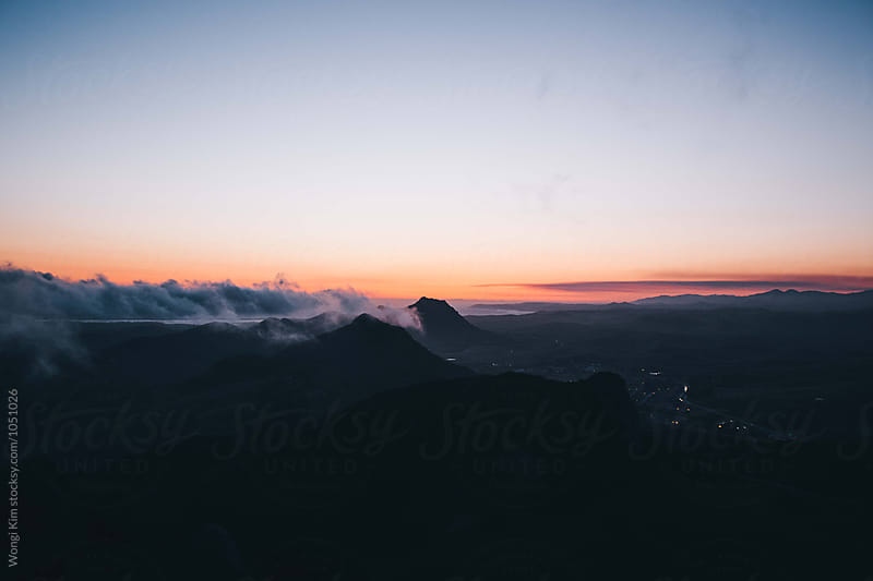 Bishop Peak by Wongi Kim for Stocksy United