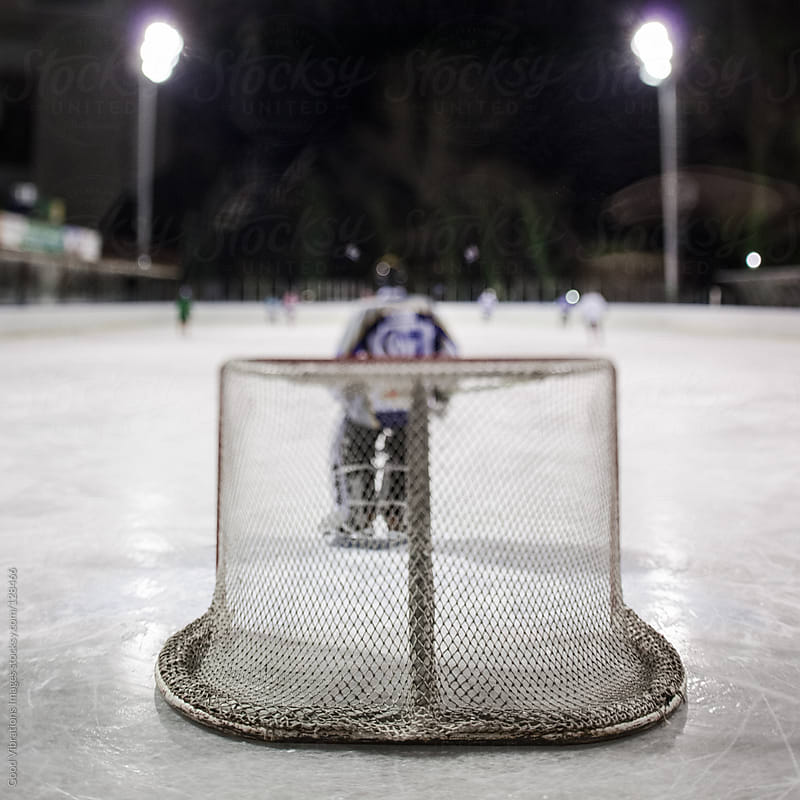 Ice Hockey Player by Good Vibrations Images for Stocksy United