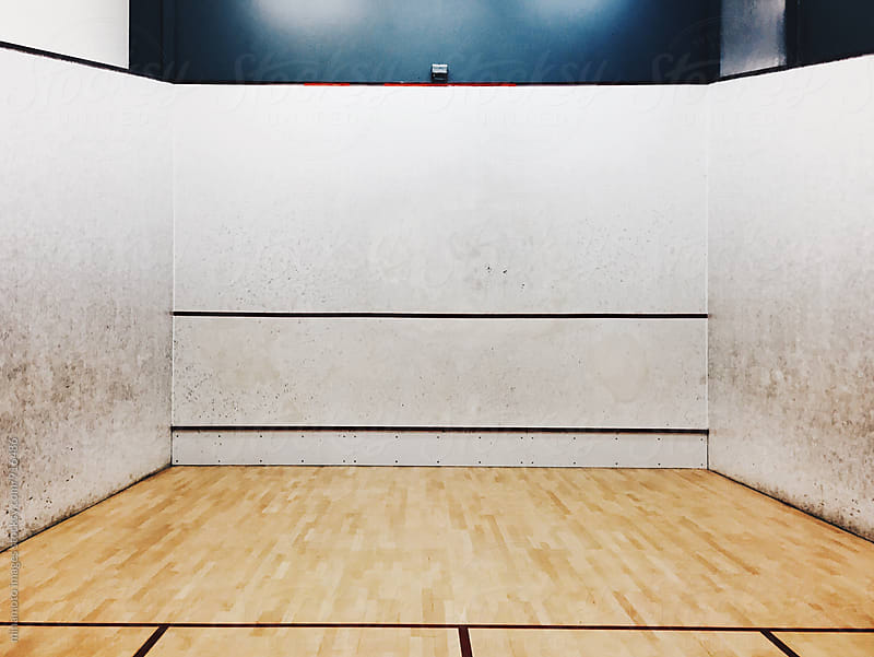 Squash Court by minamoto images for Stocksy United