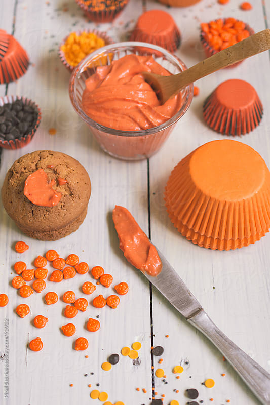 Halloween treats by Pixel Stories for Stocksy United