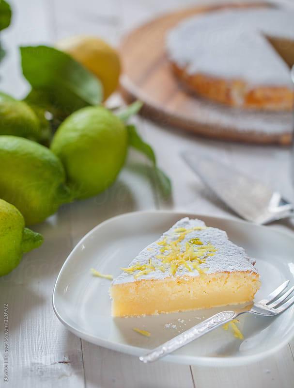 Lemon pie by Davide Illini for Stocksy United