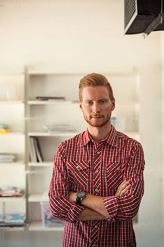 Portrait of a Modern Businessman by Lumina for Stocksy United