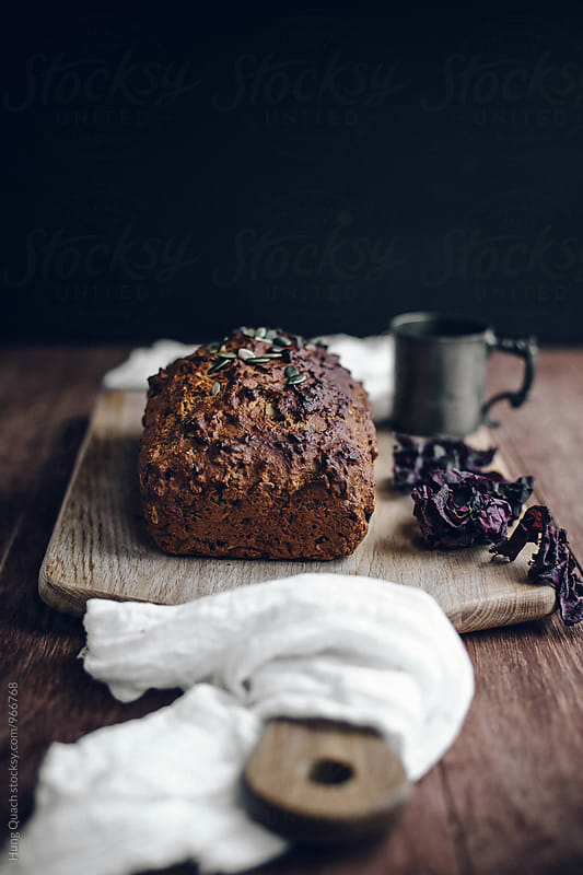 Homemade Bread Loaf by Hung Quach for Stocksy United