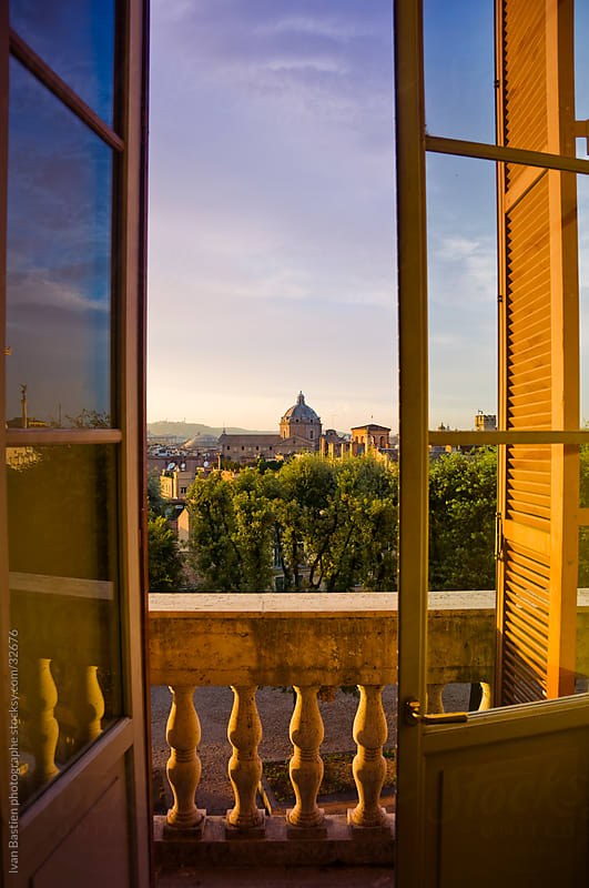 Rome skyline by Ivan Bastien for Stocksy United