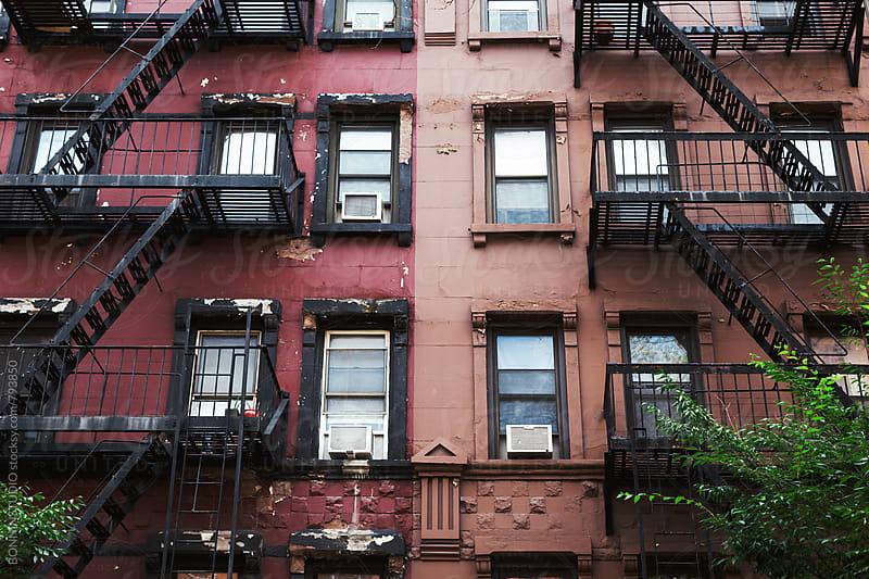 New York building. by BONNINSTUDIO for Stocksy United