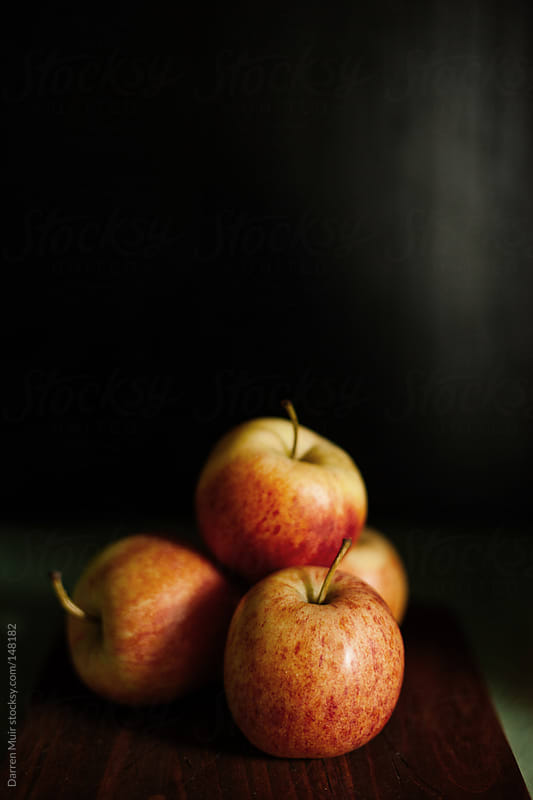 Apple still life. by Darren Muir for Stocksy United