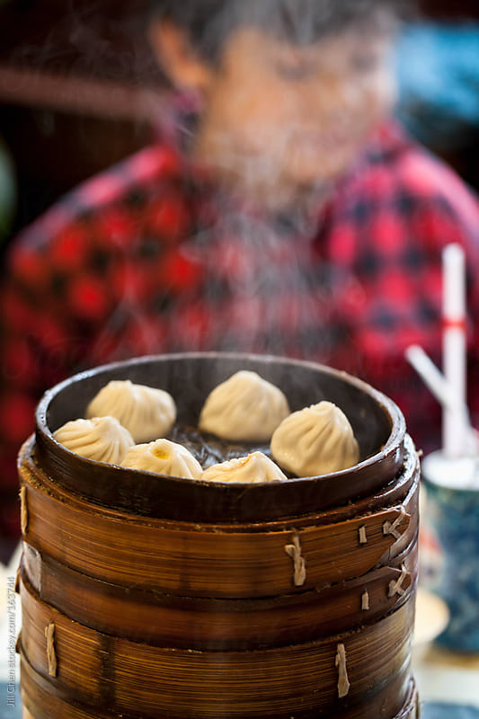 Steaming Hot Buns by Jill Chen for Stocksy United