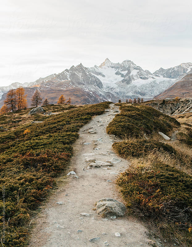 Five Lakes Trail, Switzerland by Kevin Faingnaert for Stocksy United