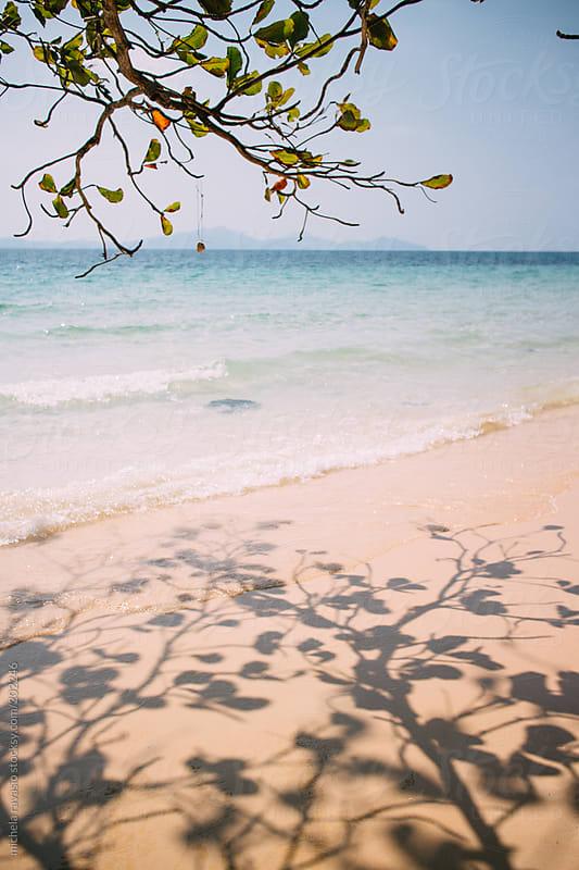White sand beach by michela ravasio for Stocksy United