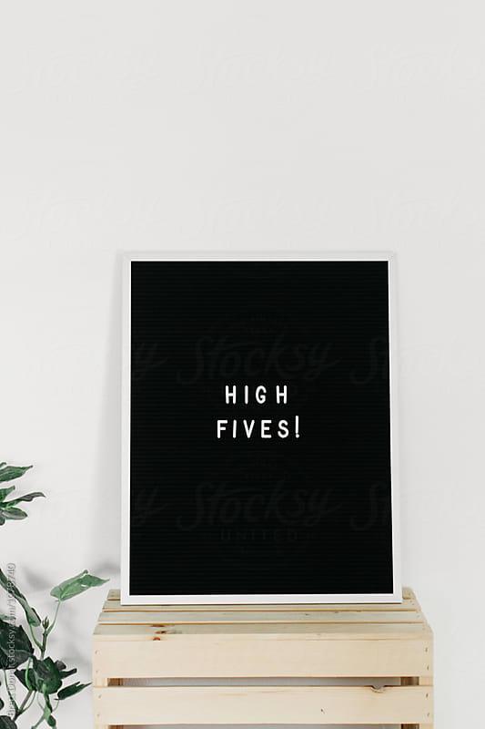 High Fives by Brett Donar for Stocksy United