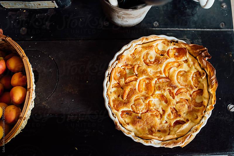 apricot pie by Léa Jones for Stocksy United