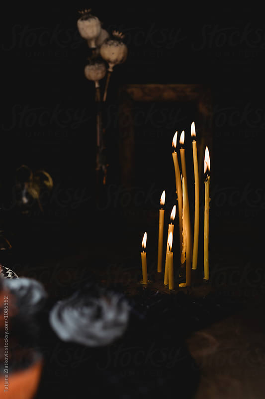 Candles by Tatjana Ristanic for Stocksy United