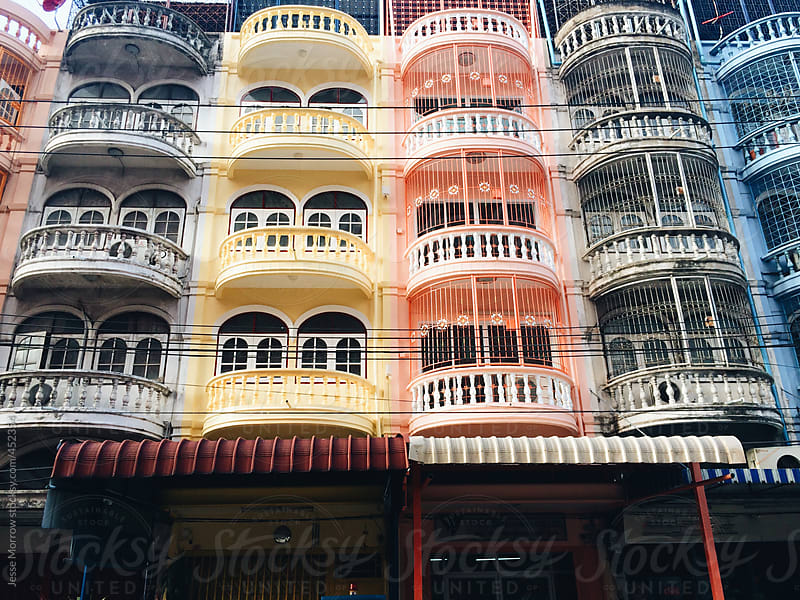 Buildings in bangkok thailand by Jesse Morrow for Stocksy United