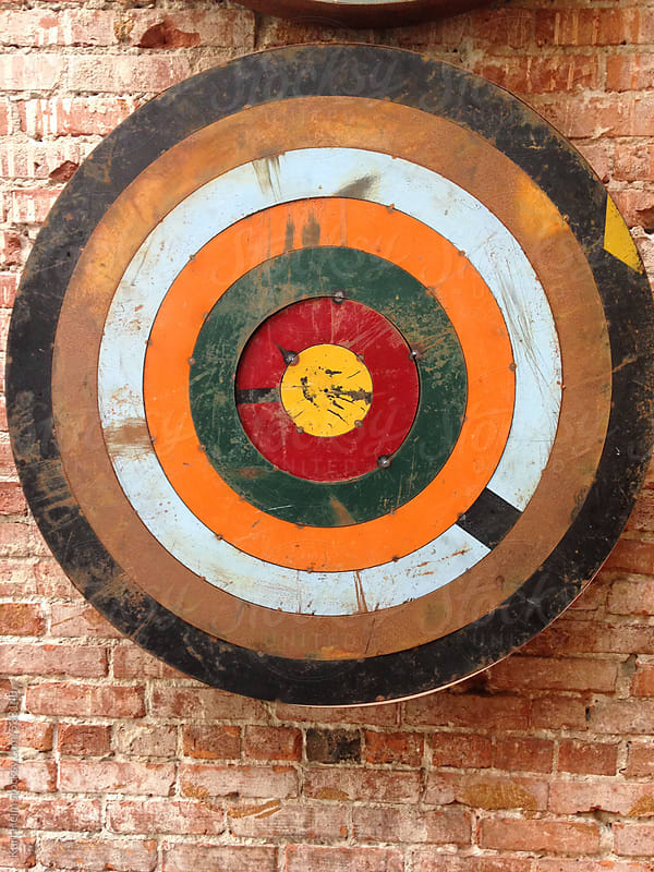 Colorful Target by Kurt Heim for Stocksy United