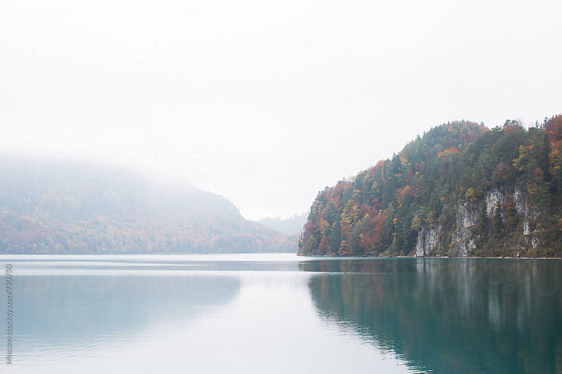 Foggy Day on the Lake by Mosuno for Stocksy United