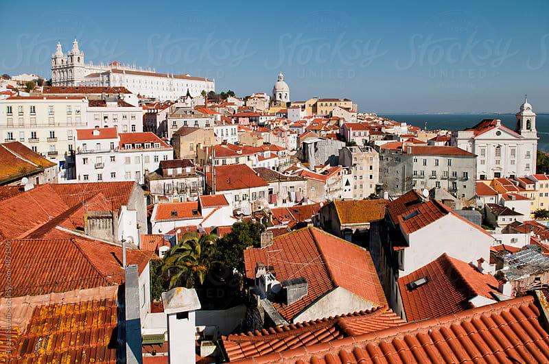 Alfama neighborhood, Lisbon by Bisual Studio for Stocksy United