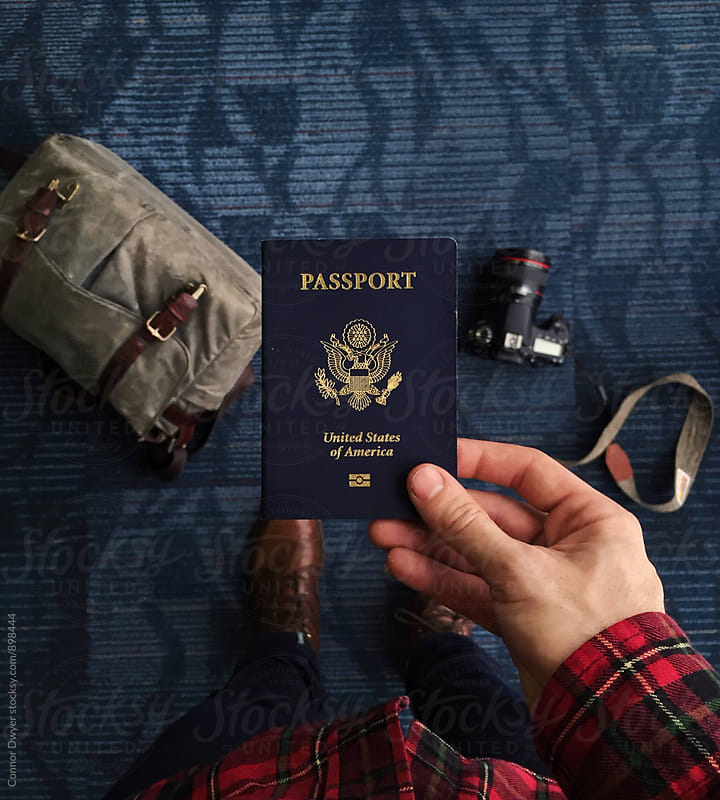 Passport by Connor Dwyer for Stocksy United
