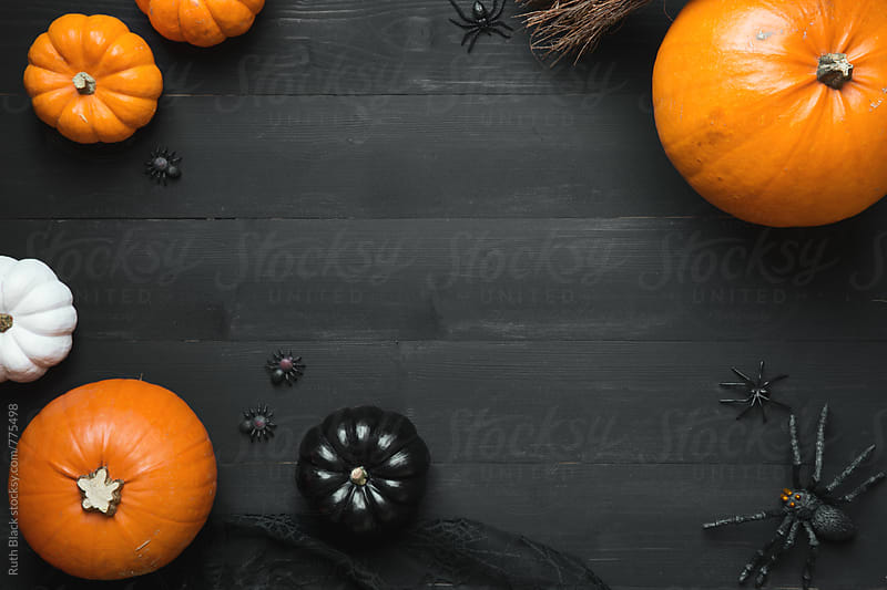 Halloween background by Ruth Black for Stocksy United