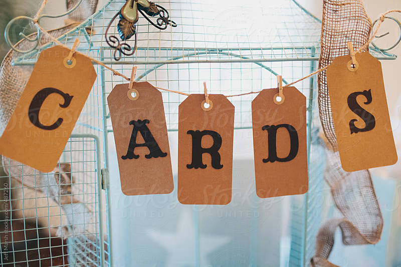 Cards and crafts by Jeff Marsh for Stocksy United