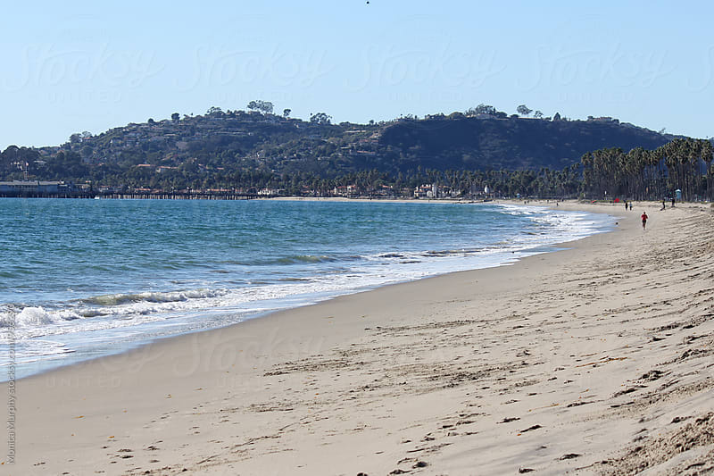 Beach at Santa Barbara, California by Monica Murphy for Stocksy United
