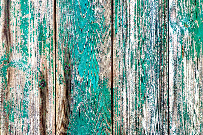 Old wood on barn door by Harald Walker for Stocksy United